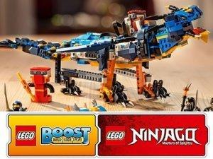 Lego Ninjago: curiosità e Lego Boost